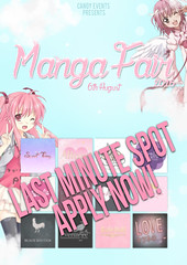 last minute spot - Manga Fair ( c ) Tags: second life event designer application manga fair festival anime mesh applier kemono m3 blogger gacha gifts candy events