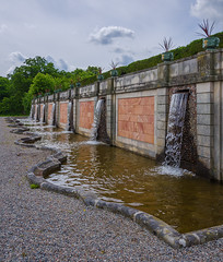 Curly water (paulius.malinovskis) Tags: nikon summer sweden scandinavia drottningholm beautiful queen stockholm palace royal garden water fountain