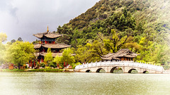 Black Dragon Lake (Fabio Fantuzzi Photography) Tags: china cina asia lijiang yunnan black dragon lake lago drago nero