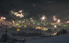 Winter Fireworks  (Patrick Vierthaler) Tags: fireworks feuerwerk gosau salzkammergut winter snow schnee alps alpen hanabi inneres austria sterreich