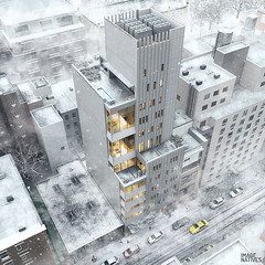 Residential Tower / NYC (Imagenatives) Tags: imagenatives architectural visualisation archviz