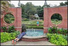 Too Tempting to Resist (ioensis) Tags: obvious choice boy girl fountain missouri mo botanical garden saint st louis jdl ioensis 87012007067tmf1bjohnlangholz2016 tempting resist