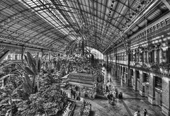 "Atocha Station • <a style=""font-size:0.8em;"" href=""http://www.flickr.com/photos/45090765@N05/30009971881/"" target=""_blank"">View on Flickr</a>"