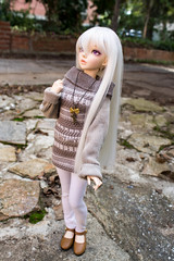 whisper in the fall (RazzyBJD) Tags: ball doll bjd fl fairyland celine jointed mnf minifee