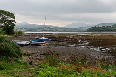 Low Tide in the Harbor (Bruce Livingston) Tags: uk harbor scotland isleofskye lowtide portree thecullin