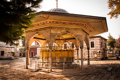 Aya Sophia Fountain (Mule67) Tags: heritage fountain turkey site aya istanbul national sophia hagia 2014 5photosaday