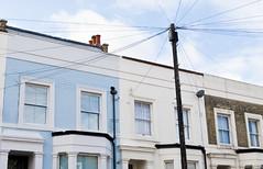(Coral G. Granda) Tags: street uk blue england sky house london home window vintage ventana nikon cielo eastend eastlondon