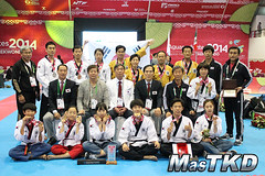 Mundial de Poomsae 2014, día 4