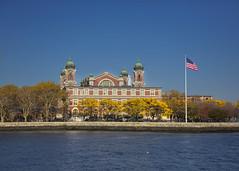 Ellis Island (Deb Felmey) Tags: newyork abandoned monument water hospital landscape liberty nationalpark jr ellisisland hardhattour