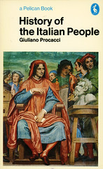 Pelican Books 1521 - Giuliano Procacci - History of the Italian People (swallace99) Tags: history vintage italian pelican paperback