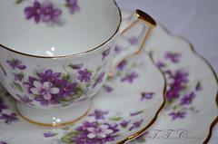 DSC_0004_web (TeaTimesCreations) Tags: china party vintage garden tea alice victorian gift violets bone mad bridal teacup wonderland saucer hatter aynsley violette