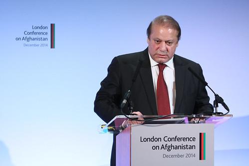 From flickr.com: Pakistan Prime Minister Nawaz Sharif {MID-97212}