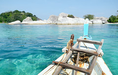 Welcome to Paradise (mahargyo jati nugroho) Tags: sea beach indonesia boat traditionalboat bluesea beautifulindonesia