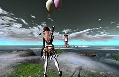 lighthouse balloons flying expression avatar foggy sl adventure secondlife neilgaiman steampunk tomorrows cestlavie virtualworld contemporaryartsociety storybookphotossl artcityartists {anc ltd}