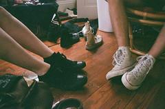 Converse everywhere (emily_quirk) Tags: friends film 35mm friendship neworleans hipster converse denim nola hip chucks basic chucktaylors ideallove whiteconverse blackconverse emilyquirk conversefriends