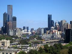 Melbourne city (Seb Ian) Tags: city rooftop skyscraper skyscrapers australia melbourne victoria cbd rialto eureka