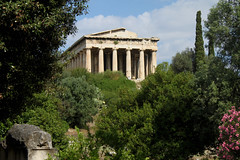Temple in a Sea of Green (Oliver_D) Tags: archaeology architecture athens greece agora culturalheritage