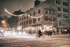 New York City - Snow and Veselka (Vivienne Gucwa) Tags: street nyc newyorkcity winter snow newyork night manhattan snowstorm urbanphotography newyorkatnight nycnight nycphoto nycwinter nycsnow citysnow newyorksnow cityphotography newyorkphoto newyorkcityphotography snowstormnewyorkcity viviennegucwa viviennegucwaphotography 2014nycsnow janus2014 janusmanhattan janussnow2014 nycjanus