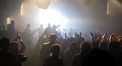Band of silhouettes (shaggy359) Tags: cambridge light people musician music 3 silhouette musicians lights three concert hands hand audience gig crowd group alabama performance performing band silhouettes junction perform clap cambridgeshire clapping applause applauding cambs alabama3 applaud