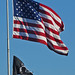 Old Glory and POW Flags 12-25-14