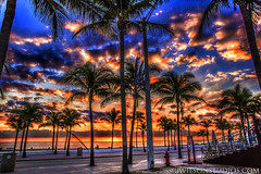 December 18th Sunrise  Fort Lauderdale Beach (*Arcade) Tags: palmtrees sunrisefortlauderdalebeachfloridabeachbeautifulgorgeousprettynatureskyclouds