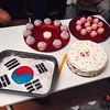 Cupcakes, gâteau choco et framboisier-mangue ! 🎂 Plein de bonnes choses pour ma cousine damour @shuuming qui part en Corée du Sud ❤️✌️🎉 Sinon #insanitybientot #fromcachalottoshrimps #mashallahleregime