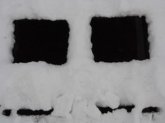 Face. (lafur Ingi) Tags: old morning blue cloud snow abstract black cold reflection green ice water reflections garden frozen waterfall iceland leaf heaven frost space text straw gras leafs reykjavk frozenwater snjr frosen blueheaven elliardalur collor collorful str andlit gngubr frosthrm