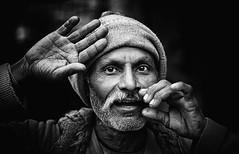 India - Varanasi (peo pea) Tags: portrait blackandwhite bw india portraits market bn varanasi ritratti ritratto bianconero reportage