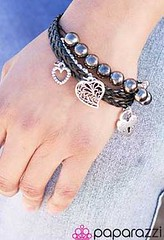 5th Avenue Black Bracelet K1 P9110A-1