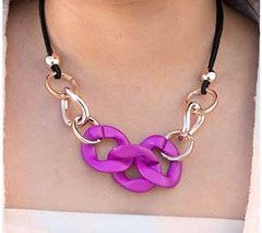 Glimpse of Malibu Purple Necklace K2 P2420-5