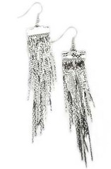 5th Avenue Silver Earrings P5210-5