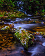 Laurel Creek Rd Stream-Waterfall (Ron Harbin Photography) Tags: park blue light red mountains flower color green art fall water beautiful beauty yellow landscape photography photo waterfall fantastic stream earth magic creative scene master national smoky incredible magical cascade masterclass