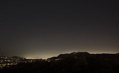 hollywood stars (impix) Tags: city light sky usa night america stars losangeles los angeles cities hills pollution hollywood griffith
