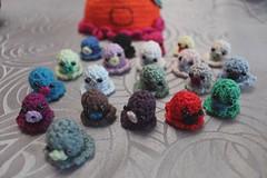 Amigurumi Crochet Maman poulpie et kids Poulpie (Le crochet d'Erenys) Tags: handmade crochet amigurumi poulpie takochu