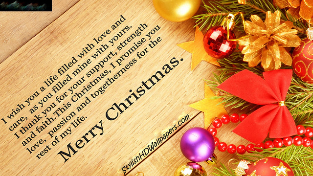 Merry Christmas Greetings Wishes HD Wallpaper - Stylish HD Wallpapers