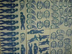 new prints (andres musta) Tags: andres musta linoleum block print sticker stickerart zombie zas zombieartsquad art squad stickers adhesive andresmusta slaps