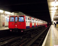 London Underground C Stock 5702, 5565 and 5572 at Embankment (CoachAlex1996) Tags: railroad england london train underground c south transport stock tube railway trains system east network subsurface