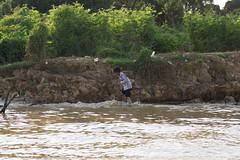 DSC03983 (Aaron_Choi) Tags: travel family winter boy people house lake tourism swimming river asian boat kid fishing scenery asia cambodia cambodian village child riverside speedboat floating lakeside unesco riverboat shack siemreap riverbank tonlesap tonlsap