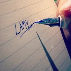 Lamy #Lamy  สิ่งนี้หรืคือปากกา