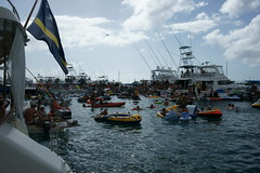 Fuikdag 2015 (sergio_leenen) Tags: life party vacation color beach water netherlands dutch boats island paradise famous sunday carribean funday bbq drinks curacao destination local willemstad colony antilles 2015 fuik fuikdag