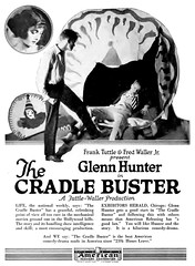 1922 the cradle buster (Al Q) Tags: film movie silent glenn american hunter buster 1922 cradle releasing