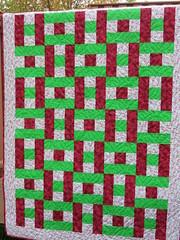 """H"" Blocks (Nettie's Quilts) Tags: donation hopscotch scrappy kathydavisfabric 3ydquilt"
