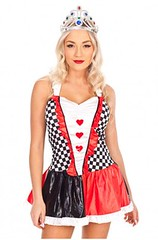 ladies-queen-of-hearts-fancy-dress-56 (Oktoberfest Costumes) Tags: halloweencostume queenofheartscostume