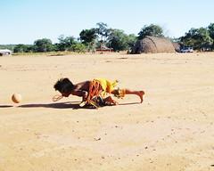 Xikunahity (fergprado) Tags: travel brazil brasil kid child criana futebol tribo indigenous aldeia ndio indigena xikunahity
