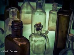 Bottles (David Cucaln) Tags: stilllife macro contrast vintage high bottles retro contraste alto bodegon fineartphotography naturalezamuerta botellas davidcucalon