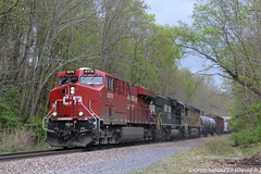 CP 9376 GE ES44AC (37T) (Trucks, Buses, & Trains by granitefan713) Tags: up train ns unionpacific locomotive canadianpacific cp ge generalelectric freighttrain norfolksouthern manifest lashup es44ac mixedfreight mixedpower gees44ac sunburyline foreignpower nssunburyline