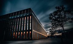 City hall Reutlingen (Tim RT) Tags: city light building beautiful night clouds prime hall tim moving nikon exposure cityscape natural outdoor cityhall filter nd pro 20mm scape rt 1000 architecure construct longtime reutlingen d810 hayda nikon20mmf18