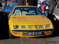 Renault Alpine A310 (fangio678) Tags: classic cars french francaise voiture renault collection strasbourg alpine coche oldtimer 12 06 ancienne youngtimer 2015 a310 voituresanciennes meinau retrorencard