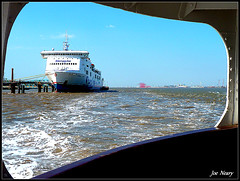 Views from a Mersey ferry (exacta2a) Tags: boats birkenhead rivers ferries liverpoolmerseyside