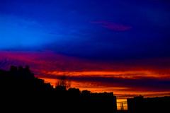 One evening (alexwinger) Tags: sunset night evening rainbow nikon